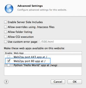 WebServer WebSite WebApp Configurations